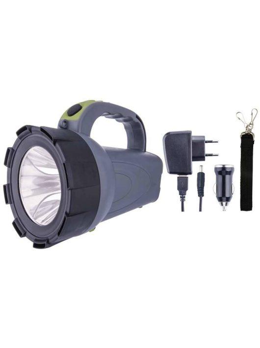 Akkumulátoros LED keresőlámpa COB Led-del