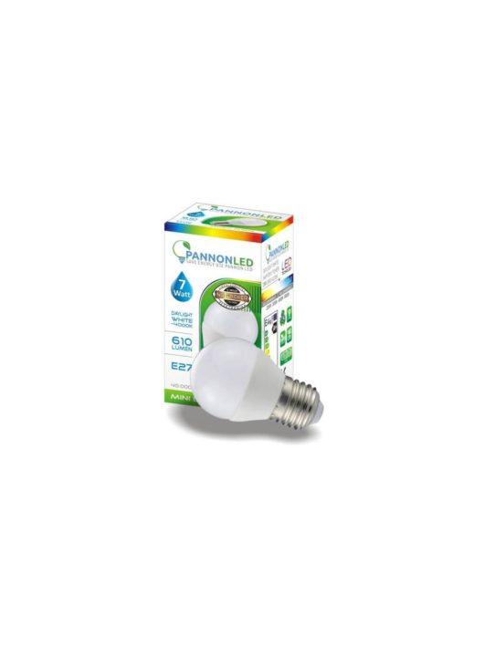 LED izzó E27 gömb 7 Watt - Napfény fehér