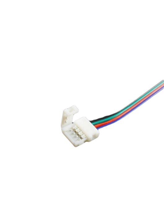 Betáp kábel (15cm) 5050 RGB LED szalaghoz 10mm